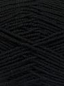 Fiber Content 70% Acrylic, 30% Wool, Brand Ice Yarns, Black, Yarn Thickness 4 Medium  Worsted, Afghan, Aran, fnt2-52601