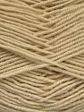 Fiber Content 70% Acrylic, 30% Wool, Brand Ice Yarns, Dark Cream, Yarn Thickness 4 Medium  Worsted, Afghan, Aran, fnt2-52605