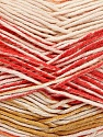 Fiber Content 50% Cotton, 50% Acrylic, Pink Shades, Orange, Olive Green, Brand Ice Yarns, Cream, Yarn Thickness 2 Fine  Sport, Baby, fnt2-52917