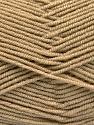 Contenido de fibra 50% De bambú, 50% Acrílico, Brand Ice Yarns, Cafe Latte, Yarn Thickness 2 Fine  Sport, Baby, fnt2-53090