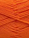 Contenido de fibra 50% Acrílico, 50% De bambú, Orange, Brand Ice Yarns, Yarn Thickness 2 Fine  Sport, Baby, fnt2-53095