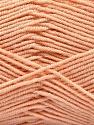 Contenido de fibra 50% De bambú, 50% Acrílico, Light Salmon, Brand Ice Yarns, Yarn Thickness 2 Fine  Sport, Baby, fnt2-53096