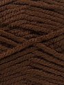 Fiber Content 100% Acrylic, Brand Ice Yarns, Dark Brown, Yarn Thickness 5 Bulky  Chunky, Craft, Rug, fnt2-53171