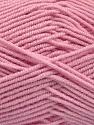 Contenido de fibra 50% Acrílico, 50% De bambú, Brand Ice Yarns, Baby Pink, Yarn Thickness 2 Fine  Sport, Baby, fnt2-53332