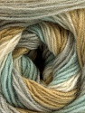 Fiber Content 60% Acrylic, 20% Angora, 20% Wool, White, Olive Light Green, Mint Green, Brand Ice Yarns, Grey, Yarn Thickness 2 Fine  Sport, Baby, fnt2-53560