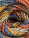 Fiber Content 60% Acrylic, 20% Wool, 20% Angora, Salmon, Brand Ice Yarns, Gold, Blue, Beige, Yarn Thickness 2 Fine  Sport, Baby, fnt2-53562