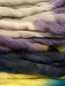 Fiber Content 100% Superwash Wool, Yellow, Purple, Brand Ice Yarns, Blue, Black, Yarn Thickness 6 SuperBulky  Bulky, Roving, fnt2-53573
