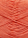 Fiber Content 100% Mercerised Cotton, Light Orange, Brand Ice Yarns, Yarn Thickness 2 Fine  Sport, Baby, fnt2-53801