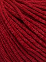 Global Organic Textile Standard (GOTS) Certified Product. CUC-TR-017 PRJ 805332/918191 Fiber Content 100% Organic Cotton, Brand Ice Yarns, Burgundy, Yarn Thickness 3 Light  DK, Light, Worsted, fnt2-54732