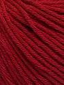 Global Organic Textile Standard (GOTS) Certified Product. CUC-TR-017 PRJ 805332/918191 Fiber Content 100% Organic Cotton, Brand Ice Yarns, Burgundy, Yarn Thickness 3 Light  DK, Light, Worsted, fnt2-54732