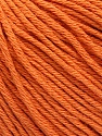 Global Organic Textile Standard (GOTS) Certified Product. CUC-TR-017 PRJ 805332/918191 Fiber Content 100% Organic Cotton, Orange, Brand Ice Yarns, Yarn Thickness 3 Light  DK, Light, Worsted, fnt2-54733