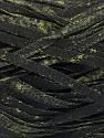 Fiber Content 82% Viscose, 18% Polyester, Brand Ice Yarns, Dark Green, Black, Yarn Thickness 5 Bulky  Chunky, Craft, Rug, fnt2-55005