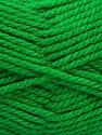 Bulky  Fiber Content 100% Acrylic, Brand Ice Yarns, Green, Yarn Thickness 5 Bulky  Chunky, Craft, Rug, fnt2-55104