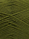 Fiber Content 100% Acrylic, Khaki, Brand Ice Yarns, Yarn Thickness 2 Fine  Sport, Baby, fnt2-55382
