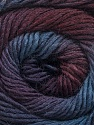 Fiber Content 50% Acrylic, 50% Wool, Purple, Maroon, Brand Ice Yarns, Blue Shades, Yarn Thickness 2 Fine  Sport, Baby, fnt2-55518