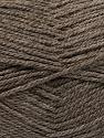 Fiber Content 100% Acrylic, Brand Ice Yarns, Dark Camel, Yarn Thickness 2 Fine  Sport, Baby, fnt2-55719