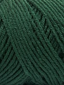 Items made with this yarn are machine washable & dryable. Fiber Content 100% Dralon Acrylic, Brand Ice Yarns, Dark Green, Yarn Thickness 4 Medium  Worsted, Afghan, Aran, fnt2-55826