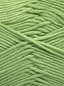 Fiber Content 50% Acrylic, 50% Bamboo, Mint Green, Brand Ice Yarns, Yarn Thickness 2 Fine  Sport, Baby, fnt2-56575