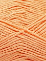Fiber Content 50% Bamboo, 50% Acrylic, Light Salmon, Brand Ice Yarns, Yarn Thickness 2 Fine  Sport, Baby, fnt2-56579