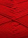 Fiber Content 50% Bamboo, 50% Acrylic, Red, Brand Ice Yarns, Yarn Thickness 2 Fine  Sport, Baby, fnt2-56580
