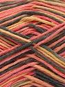 Fiber Content 100% Acrylic, Yellow, Salmon, Brand Ice Yarns, Anthracite Black, Yarn Thickness 2 Fine  Sport, Baby, fnt2-57350