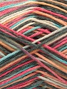 Fiber Content 100% Acrylic, Yellow, Salmon, Pink, Mint Green, Brand Ice Yarns, Grey, Yarn Thickness 2 Fine  Sport, Baby, fnt2-57352