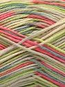 Fiber Content 100% Acrylic, Pink, Brand Ice Yarns, Green, Cream, Blue, Yarn Thickness 2 Fine  Sport, Baby, fnt2-57357