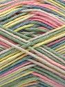 Fiber Content 100% Acrylic, Yellow, Pink, Light Green, Brand Ice Yarns, Cream, Blue, Yarn Thickness 2 Fine  Sport, Baby, fnt2-57358