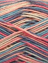Fiber Content 100% Acrylic, Pink, Lavender, Brand Ice Yarns, Cream, Blue, Yarn Thickness 2 Fine  Sport, Baby, fnt2-57365