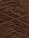 Fiber Content 65% Merino Wool, 35% Silk, Brand Ice Yarns, Brown, Yarn Thickness 3 Light  DK, Light, Worsted, fnt2-57665
