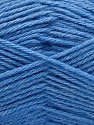 Fiber Content 65% Merino Wool, 35% Silk, Brand Ice Yarns, Blue, Yarn Thickness 3 Light  DK, Light, Worsted, fnt2-57680