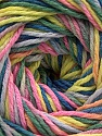 Fiber Content 100% Acrylic, Pink, Neon Yellow, Lilac, Khaki, Brand Ice Yarns, Blue, Yarn Thickness 3 Light  DK, Light, Worsted, fnt2-57756