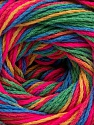 Fiber Content 100% Acrylic, Neon Pink, Brand Ice Yarns, Green, Gold, Blue, Yarn Thickness 3 Light  DK, Light, Worsted, fnt2-57759