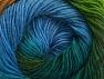 Fiber Content 60% Premium Acrylic, 20% Alpaca, 20% Wool, Turquoise, Brand Ice Yarns, Green Shades, Gold, Blue, Yarn Thickness 2 Fine  Sport, Baby, fnt2-58398