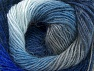 Fiber Content 60% Premium Acrylic, 20% Alpaca, 20% Wool, Brand Ice Yarns, Grey, Blue Shades, Yarn Thickness 2 Fine  Sport, Baby, fnt2-58420