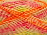 Fiber Content 75% Acrylic, 25% Wool, Neon Colors, Brand Ice Yarns, Yarn Thickness 3 Light  DK, Light, Worsted, fnt2-58427