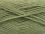 Fiber Content 50% Wool, 50% Acrylic, Light Khaki, Brand Ice Yarns, Yarn Thickness 4 Medium  Worsted, Afghan, Aran, fnt2-58452