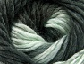 Fiber Content 50% Acrylic, 50% Wool, Light Mint Green, Brand Ice Yarns, Anthracite Black, Yarn Thickness 5 Bulky  Chunky, Craft, Rug, fnt2-58578