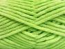 Fiber Content 100% Micro Fiber, Light Green, Brand Ice Yarns, Yarn Thickness 4 Medium  Worsted, Afghan, Aran, fnt2-58884