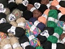 Fancy Yarns In this list; you see most recent 50 mixed lots. <br> To see all <a href=&amp/mixed_lots/o/4#list&amp>CLICK HERE</a> (Old ones have much better deals)<hr> This mixed lot includes a total of 2000 gr (70.5 oz.) leftover yarns. There is no standard for fiber content and weight. Also disregard any information on the labels. You will get what you see in the photo. Brand Ice Yarns, fnt2-59027