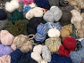Leftover Yarns In this list; you see most recent 50 mixed lots. <br> To see all <a href=&amp/mixed_lots/o/4#list&amp>CLICK HERE</a> (Old ones have much better deals)<hr> This mixed lot includes unlabeled leftover yarns. There is no standard for fiber content and ball weight. The total weight is 2000 gr (70.5 oz.). Brand Ice Yarns, fnt2-59276