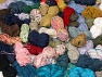 Leftover Yarns In this list; you see most recent 50 mixed lots. <br> To see all <a href=&amp/mixed_lots/o/4#list&amp>CLICK HERE</a> (Old ones have much better deals)<hr> This mixed lot includes unlabeled leftover yarns. There is no standard for fiber content and ball weight. The total weight is 2000 gr (70.5 oz.). Brand Ice Yarns, fnt2-59283