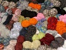 Leftover Yarns In this list; you see most recent 50 mixed lots. <br> To see all <a href=&amp/mixed_lots/o/4#list&amp>CLICK HERE</a> (Old ones have much better deals)<hr> This mixed lot includes unlabeled leftover yarns. There is no standard for fiber content and ball weight. The total weight is 2000 gr (70.5 oz.). Brand Ice Yarns, fnt2-59290