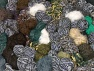 Leftover Yarns In this list; you see most recent 50 mixed lots. <br> To see all <a href=&amp/mixed_lots/o/4#list&amp>CLICK HERE</a> (Old ones have much better deals)<hr> This mixed lot includes unlabeled leftover yarns. There is no standard for fiber content and ball weight. The total weight is 2000 gr (70.5 oz.). Brand Ice Yarns, fnt2-59292