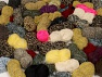 Leftover Yarns In this list; you see most recent 50 mixed lots. <br> To see all <a href=&amp/mixed_lots/o/4#list&amp>CLICK HERE</a> (Old ones have much better deals)<hr> This mixed lot includes unlabeled leftover yarns. There is no standard for fiber content and ball weight. The total weight is 2000 gr (70.5 oz.). Brand Ice Yarns, fnt2-59297