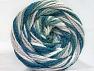 Fiber Content 50% Acrylic, 50% Polyamide, White, Teal, Khaki, Brand Ice Yarns, Beige, Yarn Thickness 5 Bulky  Chunky, Craft, Rug, fnt2-59354