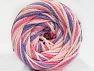 Fiber Content 50% Polyamide, 50% Acrylic, Pink Shades, Lilac, Brand Ice Yarns, Yarn Thickness 5 Bulky Chunky, Craft, Rug, fnt2-59359