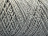 Please be advised that yarn iade made of recycled cotton, and dye lot differences occur. Fiber Content 100% Cotton, Light Grey, Brand Ice Yarns, Yarn Thickness 4 Medium  Worsted, Afghan, Aran, fnt2-60160