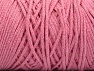 Please be advised that yarn iade made of recycled cotton, and dye lot differences occur. Fiber Content 100% Cotton, Brand Ice Yarns, Baby Pink, Yarn Thickness 5 Bulky  Chunky, Craft, Rug, fnt2-60171