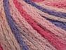 Fiber Content 50% Polyamide, 50% Acrylic, Pink Shades, Lilac, Brand Ice Yarns, Yarn Thickness 4 Medium  Worsted, Afghan, Aran, fnt2-60367